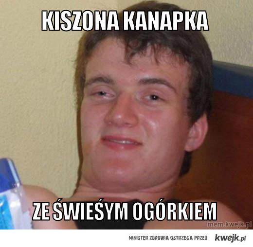 kiszona kanapka