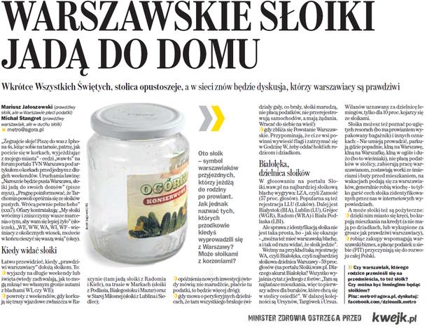 warszawskie słoiki