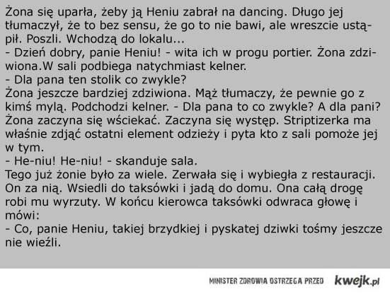 Heniu i dancing