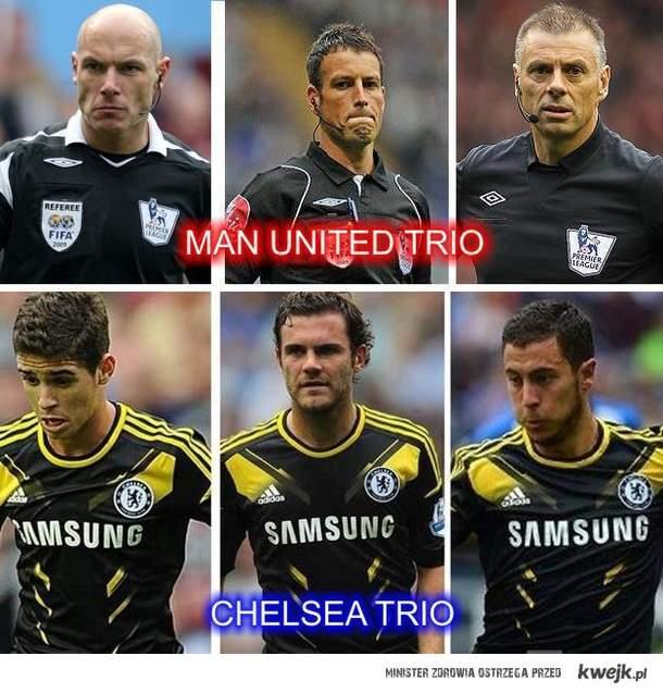 Trio Man United i Chelsea