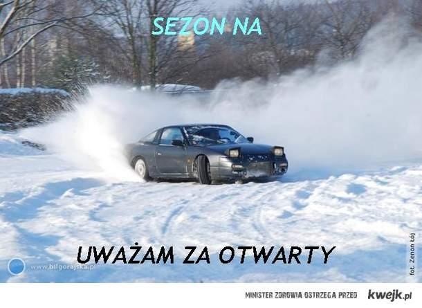 Sezon na drift uważam za otwarty