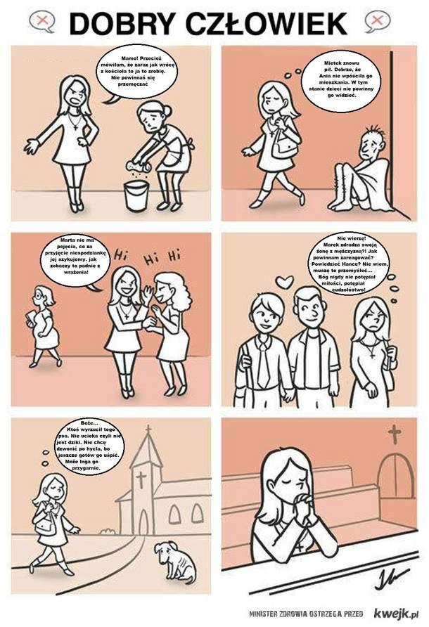 Zauważyliście, że katolik w internecie zawsze jest zły, a zakłamanych ateistów nie ma?