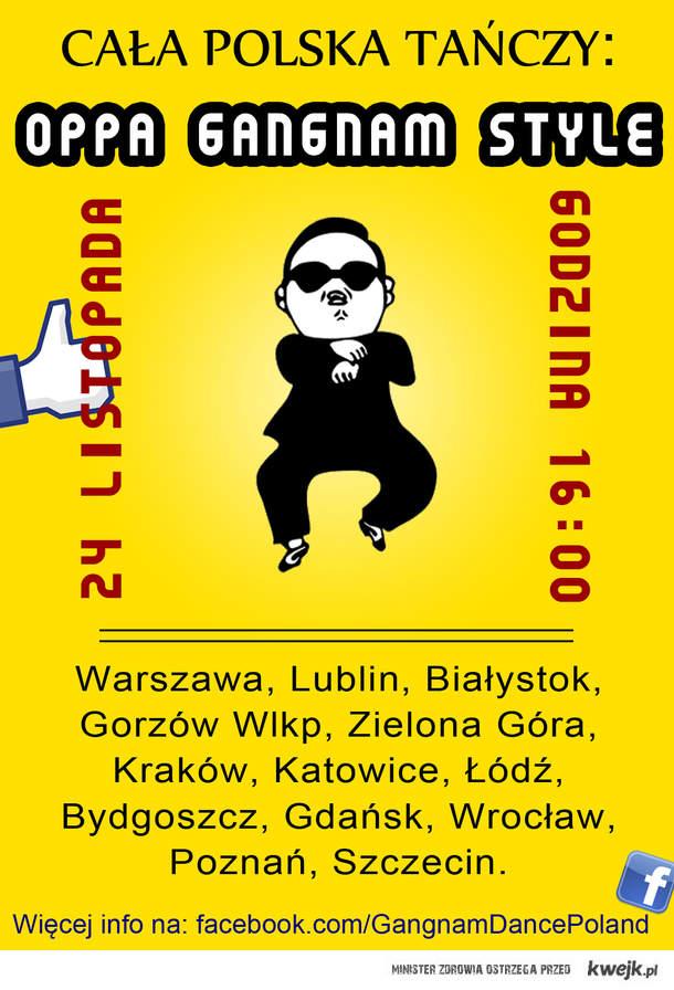 Cała Polska Tańczy: Gangnam Style
