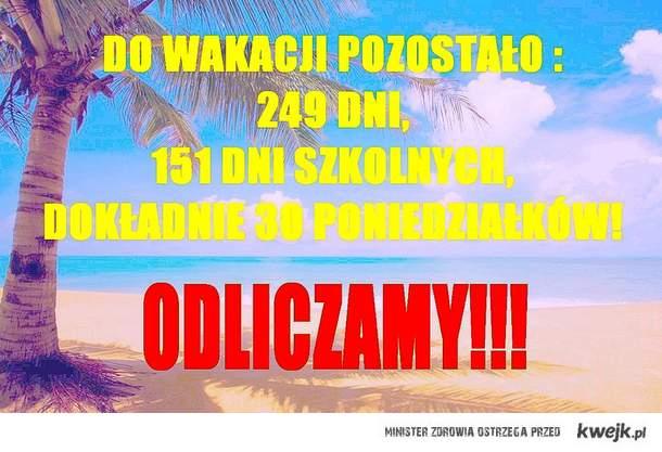 wakacje!!!