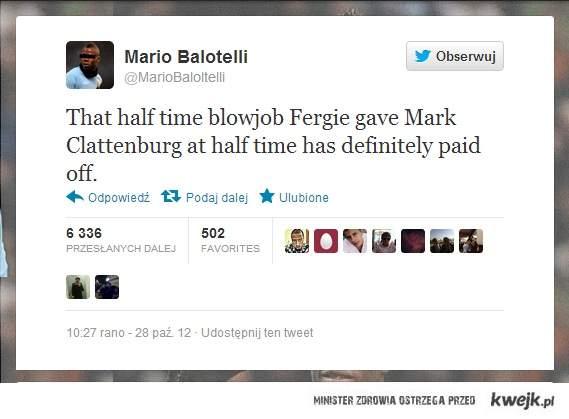 Mario o meczu MU-Chelsea