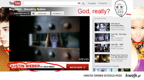 Megadeth i Bieber