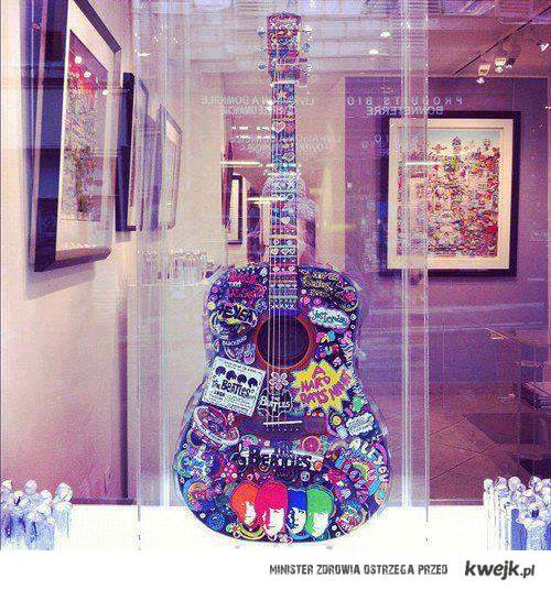 Gitara The Beatles