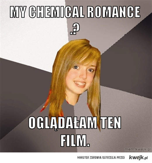 my chemical romance .?