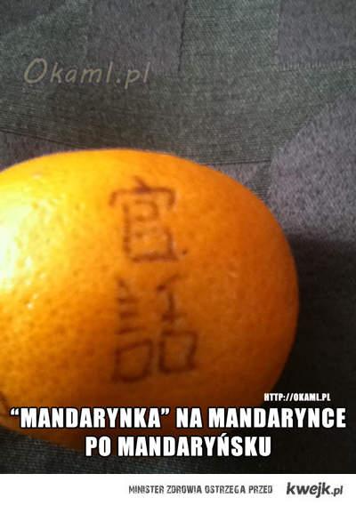 """""""Mandarynka"""" na mandarynce po mandaryńsku"""