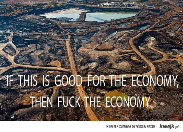 fuck the economy