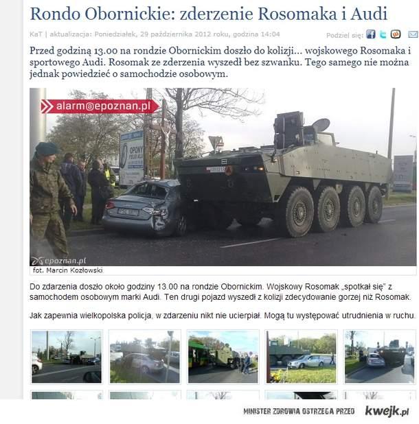 Audi vs Rosomak