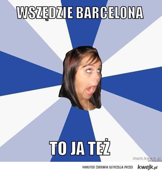 wszędzie barcelona