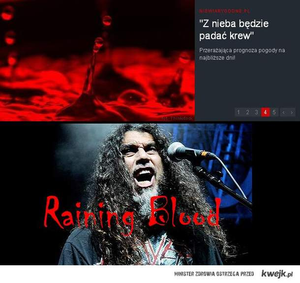 Slayer- Raining blood