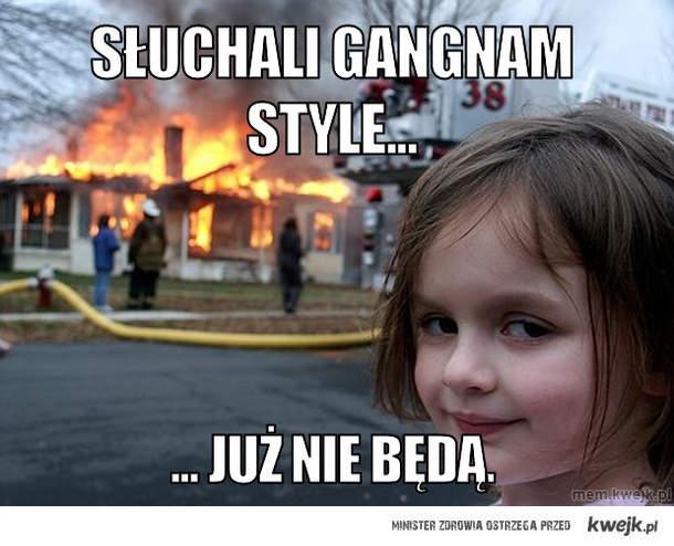 Słuchali gangnam style...