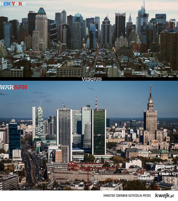 Nowy Jork kontra Warszawa