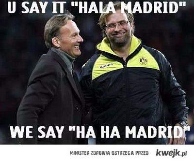 HAHA MADRID!