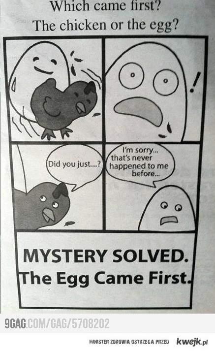 kto pierwszy?