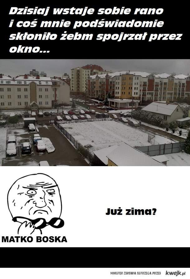 Już zima?