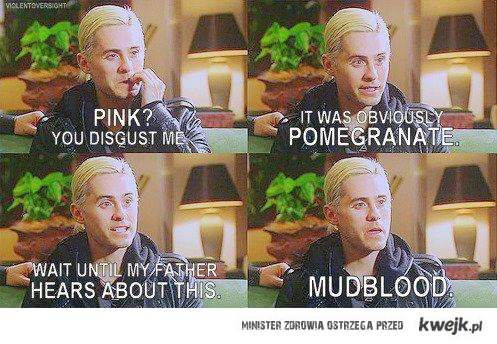 jared as malfoy