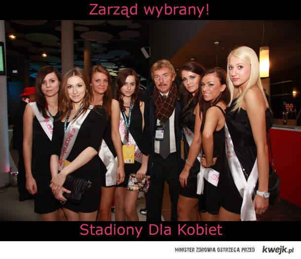 Zarząd Wybrany - Stadiony Dla Kobiet