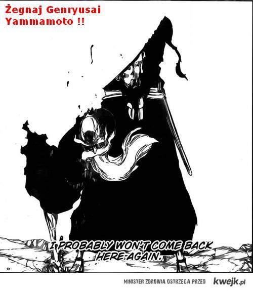 Wydarzenia z epickiem mangi Bleach !