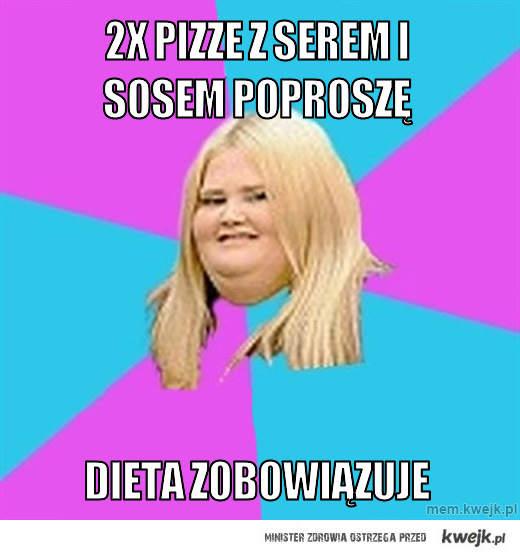 2x Pizze z  serem i sosem poproszę