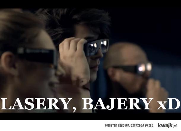 Lasery , bajery
