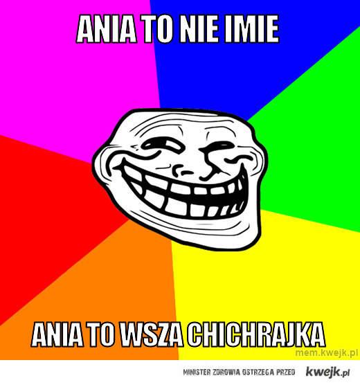 Ania to nie imie