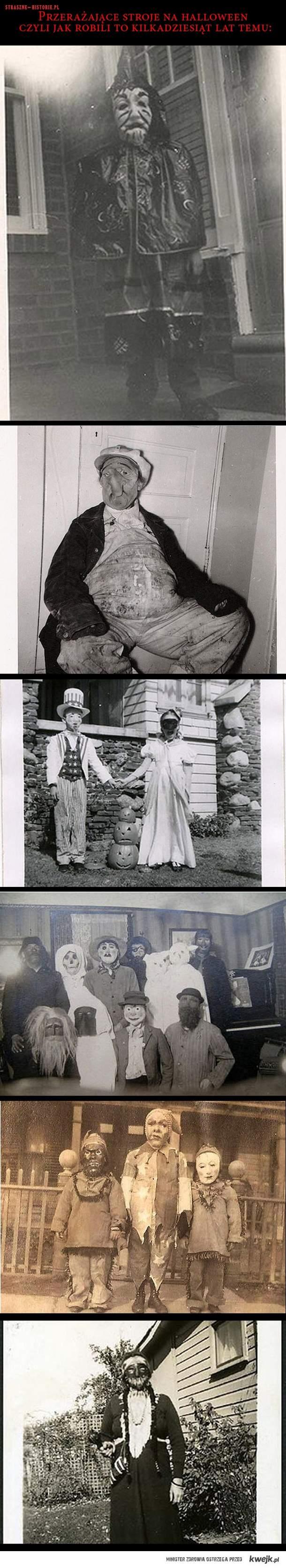 Jak kiedyś wyglądały stroje na halloween