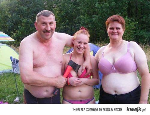 Bardzo dziwne zdjęcie rodzinne