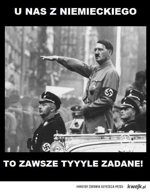 Zadane z niemieckiego
