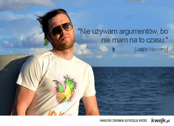 """Nie używam argumentów, bo nie mam na to czasu..."""""""