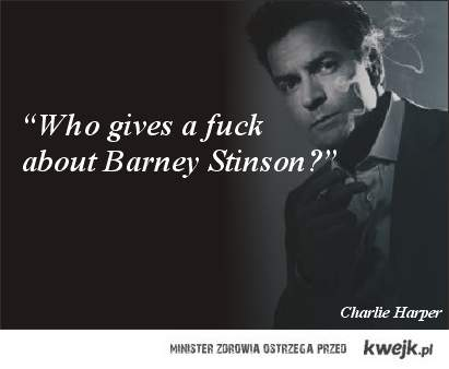Who gives a fuck about Barney