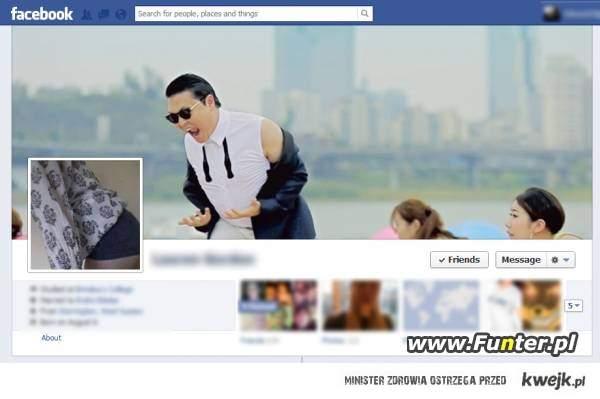Gangnam Style FaceBook
