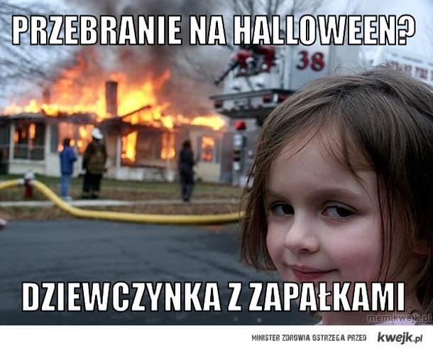 przebranie na Halloween?