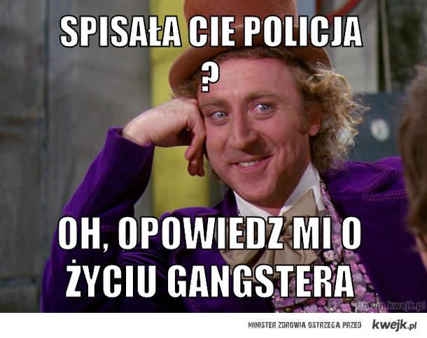 spisała cie policja ?