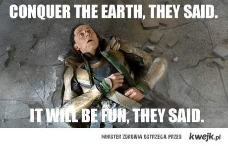 Loki is not amused