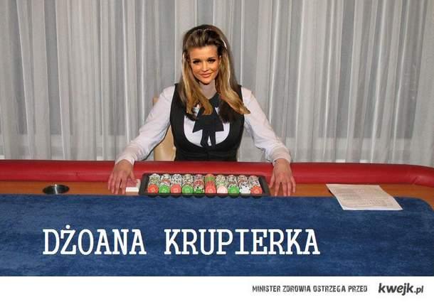 Dżoana Krupierka