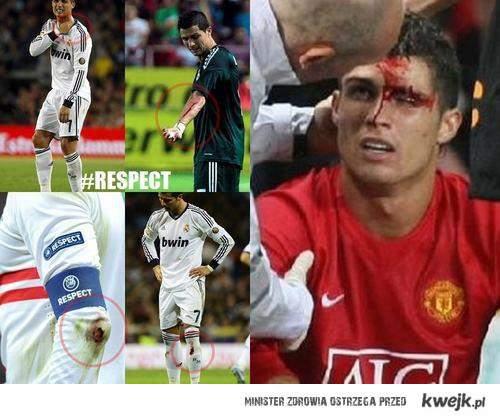 Przecież Ronaldo tylko symuluje...