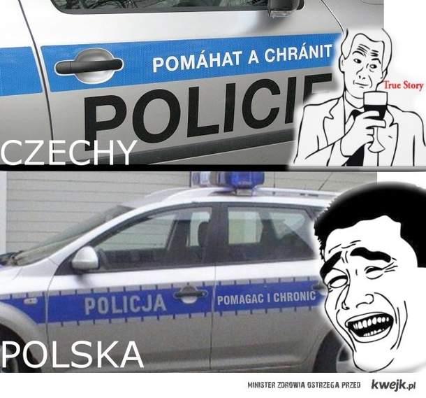 Policja w Polsce i Czechach