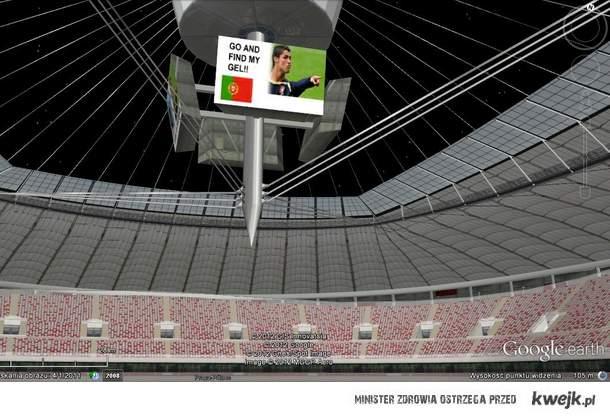 Stadion Narodowy w Google Earth ;P