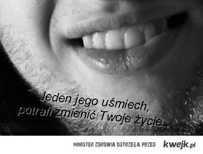 uśmiech..