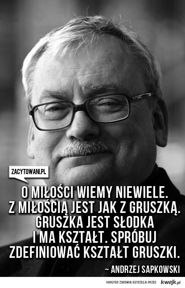 Sapkowski i miłość