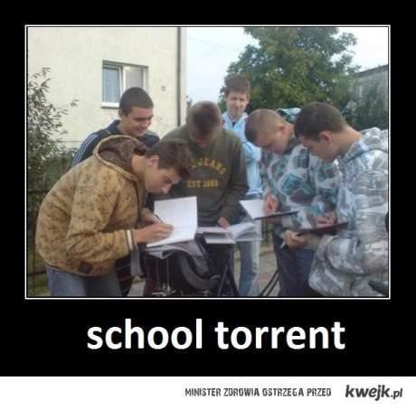 Torrent szkolny