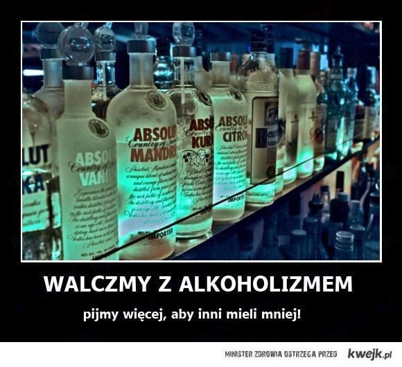 walczmy z alkoholizmem