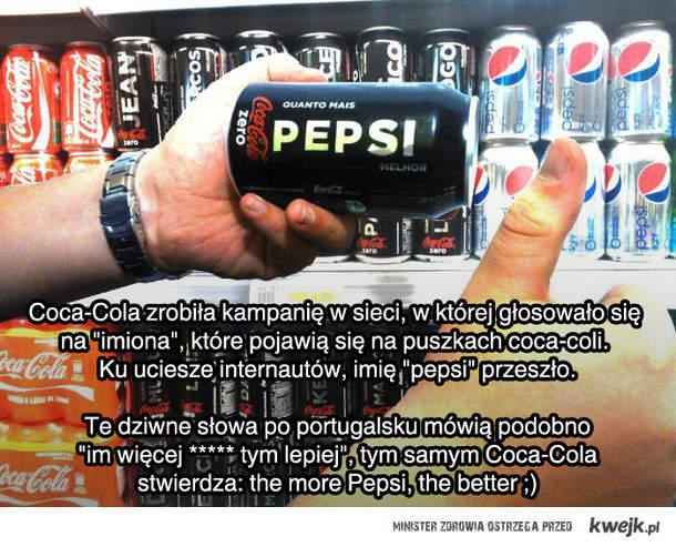 Pepsi w Coli
