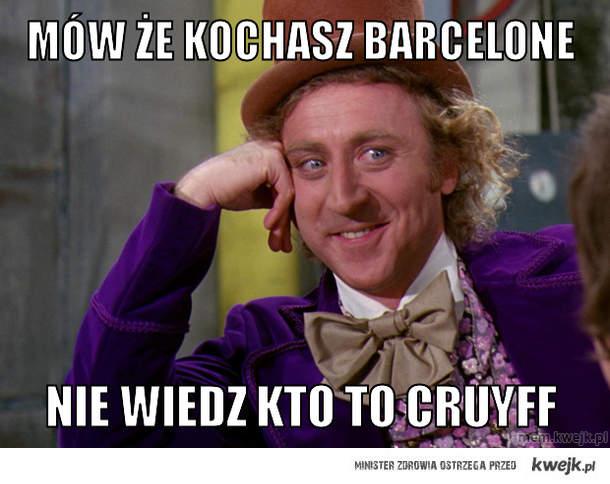 mów że kochasz barcelone