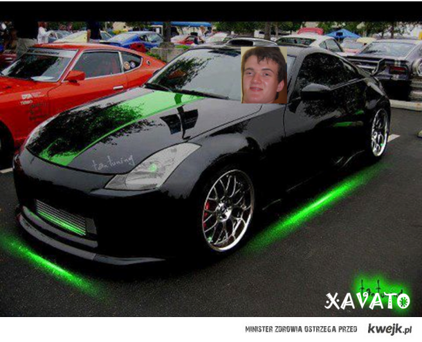 Zjarany Zbychu i Jego Auto