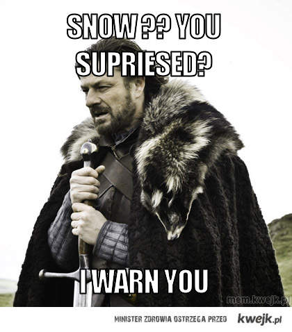 SNOW ?? You supriesed?