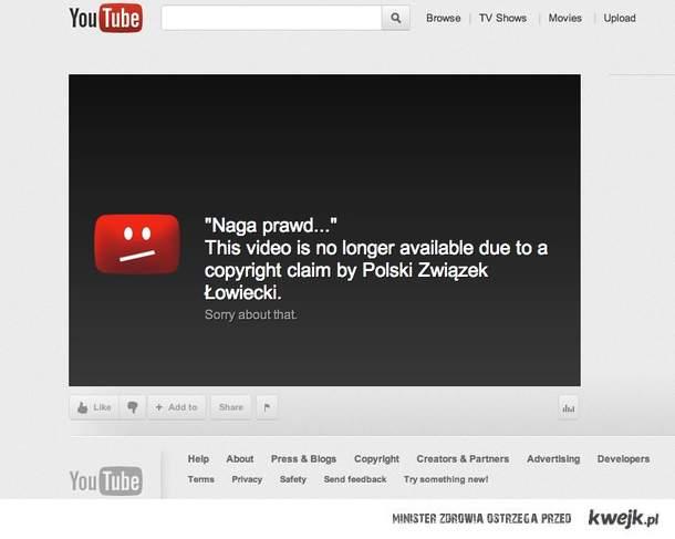 Cenzura w sieci istnieje. Nazywa sie prawem autorskim.